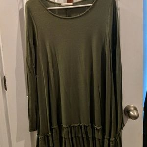 Tops - Olive tunic